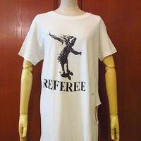 ビンテージ70's●ステンシルアート両面プリントTシャツ白 Size L●200806s1-m-tsh-ot メンズ半袖トップス古着