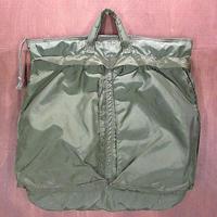ビンテージ70's80's●USAFヘルメットバッグ●210509n7-bag-hnd 1970s1980sミリタリー鞄メンズナイロン空軍米軍実物