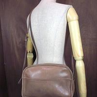 ビンテージ●オールドコーチレザーショルダーバッグ●201016n1-bag-shd古着COACH革製USAカバン鞄ワンショルダー