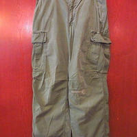 ビンテージ60's●U.S.ARMYリップストップファティーグパンツsize S-R●200928s7-m-pnt-mlt-W30米軍実物ミリタリーカーゴパンツ古着