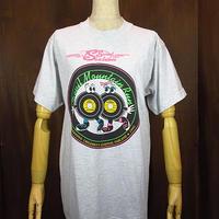 ビンテージ90's●レコードプリント霜降りTシャツM●200616n2-m-tsh-ot 1990sデビルマウンテンランマラソン大会ランニング