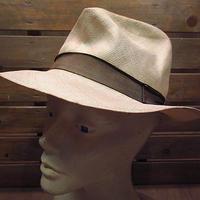 ビンテージ●BarbisioストローハットM●200806n6-m-ht-str バルビジオイタリア麦わら帽子メンズ