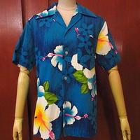 ビンテージ70's●ROYAL HAWAIIANコットン花柄ハワイアンシャツsize S●200810s1-m-sssh-hw古着ループカラーシャツオープンカラーシャツ