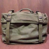 ビンテージ50's●U.S.ARMY M-1945フィールドカーゴパック●200819n8-bag-hnd m45ミリタリー米軍実物サイドバッグカバン