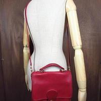 ビンテージ●オールドコーチ2WAYレザーショルダーバッグ赤●200906n5-bag-shd COACH鞄レディースレッド
