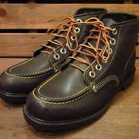 ビンテージ80's●DEAD STOCKワークブーツ黒8 1/2M●210504n11-m-bt-265cm 1980sデッドストックメンズ