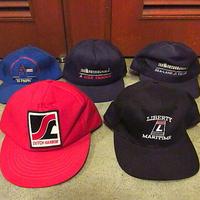 ビンテージ●キャップ5点セットA●201108f1-m-cp-bb古着帽子スナップバックメッシュキャップUSAアメリカまとめ売り卸