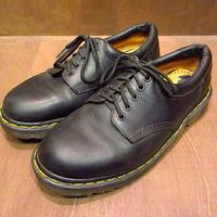 MADE IN ENGLAND Dr.Martens 5ホールシューズ黒 Size 8●200919n6-m-dshs-26cm ドクターマーチン革靴レザーシューズ