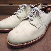 ビンテージ●Walk Overホワイトバックス8 E/C●200719n3-m-dshs-265cm ウォークオーバー革靴メンズオックスフォードシューズ白