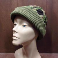 ビンテージ70's80's●Eddie Bauer ダックハンターカモダウンキャップ A●210619n6-m-cp-ot エディーバウアー迷彩アウトドア帽子