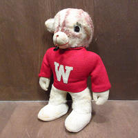ビンテージ~60's●カレッジマスコットドール●210411n7-doll 50s1950s1960sワシントン州大学人形