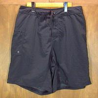 Patagoniaナイロンショートパンツ黒size 33●200710n7-m-sht-W33パタゴニアアウトドア古着スイムショーツ水着ハーフパンツ短パンボトムス