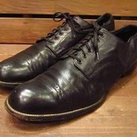 ビンテージ70's●STACY ADAMSストレートチップシューズ黒11D●210224s14-m-dshs-29cm 1970sステイシーアダムス革靴キャップトゥ