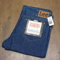 ビンテージ80's●DEADSTOCK Lee RIDERS 202 ブーツカットジーンズ 34×32●210526n5-m-pnt-jns-w34 米国製リーデッドストックデニム