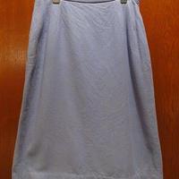 ビンテージ70's●Jantzenウール台形スカート水色size 12●201219f4-w-skt-W25古着レディースジャンセンUSA