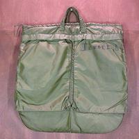 ビンテージ70's●ハンドペイント入りミリタリーヘルメットバッグ●200610n8-bag-hnd 3rd米軍実物カバン