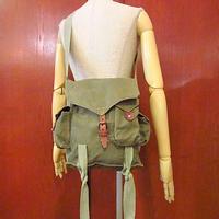 ビンテージ●キャンバスショルダーバッグ●200730s8-bag-shd カバンコットンアウトドア