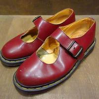 ビンテージ●MADE IN ENGLAND Dr.Martens ストラップシューズ Size 6●210331n7-w-lf-24cm ドクターマーチン英国製レディース