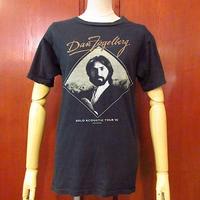 ビンテージ80's●Dan Fogelberg 1982年ソロアコースティックツアーTシャツ黒 Size M●200728f1-m-tsh-bn USA製バンドTシャツ半袖古着