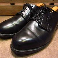 ビンテージ80's●RED WINGプリント羽根タグポストマンシューズ黒8 1/2 2E●200705n2-m-dshs-27cm 1980sレッドウィング革靴