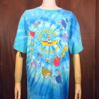 ビンテージ2000's●The Beatles Yellow SubmarineタイダイTシャツ Size M●200826n2-m-tsh-bn ビートルズイエローサブマリン古着