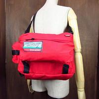 ビンテージ●CYCLEPRO サイクリングショルダーバッグ赤●201003n5-bag-shd サイクルプロ自転車用カバンナイロン