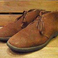 ビンテージ70's●TOWNCRAFTスウェードチャッカブーツSize6D●210414s11-m-bt-24cm 1970sメンズレディース靴
