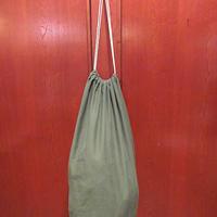 ビンテージ60's70's●ミリタリーコットンサテンバラックバック●210613f7-bag-shdオリーブかばんダッフルバッグ