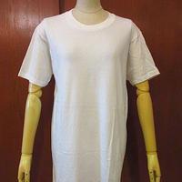 ビンテージ70's●MUNSINGWEARコットン白無地Tシャツsize42●200702f5-m-tsh-pl古着半袖シャツメンズホワイトUSA製