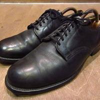 ビンテージ50's●U.S.NAVY 6アイレットサービスシューズ8 1/2R●201105n3-m-dshs-27cm 1950sミリタリー米軍実物USN海軍革靴