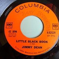 JIMMY DEAN●LITTLE BLACK BOOK/PLESE PASS THE BISCUITS COLUMBIA 4-42529●210526t1-rcd-7-cfレコード7インチ45