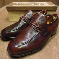 ビンテージ70's●DEADSTOCK Bob Smartビットローファー茶10 EE●201105n8-m-lf-285cm 1970sデッドストックメンズ革靴レトロ