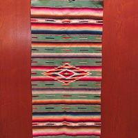 ビンテージ●メキシカンラグsize 80cm × 35cm●201218f7-rugインテリア雑貨マット絨毯カーペットアウトドアキャンプ