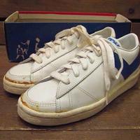 ビンテージ70's●DEAD STOCK PONYレザースニーカーSize3●210519s11-w-snk-22cm 1970sデッドストックレディース靴