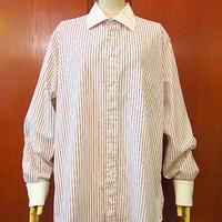 ビンテージ90's●Burberry フレンチカフスストライプドレスシャツ Size 16●200911s1-m-lssh-drs バーバリーワイシャツ長袖古着