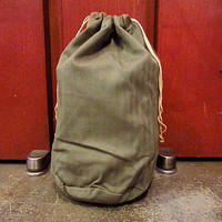 ビンテージ40's●ミリタリーHBT巾着バッグ●200731s8-bag-ot 1940's ヘリンボーン米軍実物ポーチ