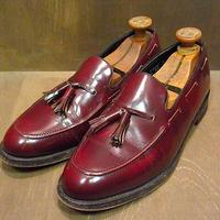 ビンテージ70's●FLORSHEIM IMPERIALタッセルローファー Size 10D●200916n6-m-lf-28cm フローシャイム革靴レザーシューズ