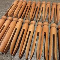 ビンテージ~40's●ウッド洗濯ばさみ20個セットA●210523f6-otclctアンティーク雑貨小物木製まとめ売りクリップ