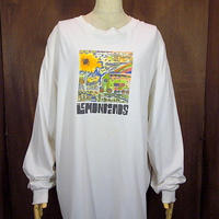 The Lemonheads 両面プリント長袖Tシャツ白 Size XL●200718n3-m-lstsh レモンヘッズバンドTシャツロンTメンズ古着