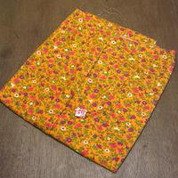 ビンテージ70's●DEADSTOCKレディース花柄テーパードパンツ橙W24●200601n2-w-pnt-ot-w24 1970sデッドストックレトロ