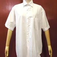 ビンテージ60's●VAN HEUSEN半袖ドレスシャツ白size15-2●200604f3-m-sssh-otメンズトップス古着ホワイトUSAコットン