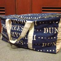 ビンテージ~60's●ステンシルプリントハンドメイドボストンバッグ●210118f8-bag-bstnかばんUSA鞄ファッション