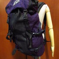 ビンテージ90's●MADE IN U.S.A. JANSPORTナイロンバックパック紫×黒●210411f9-bag-bpリュックサックジャンスポーツUSA製