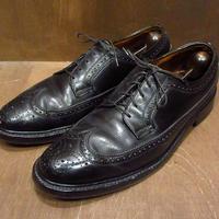 ビンテージ70's●FLORSHEIM IMPERIAL ウイングチップシューズ 10B?●210526n6-m-dshs-28cm フローシャイムインペリアル革靴