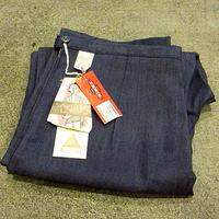ビンテージ70's●DEADSTOCK レディースデニムランチパンツ Size 32●200604s8-w-pnt-jns-w30 デッドストックジーンズワイドパンツ