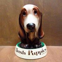 ビンテージ70's●Hush Puppies ストアディスプレイソフビコインバンク●210113n8-obj 貯金箱雑貨インテリアハッシュパピー犬