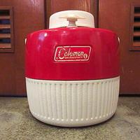 ビンテージ70's●Coleman 1ガロンジャグ赤●200607s1-otdeqpコールマンレッドUSAアウトドア雑貨水筒