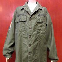 ビンテージ60's●U.S.ARMY OG-107 初期ユーティリティシャツ●210326s3-m-lssh-mlt ミリタリー米軍実物メンズ古着ジャケット