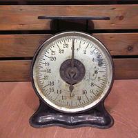 ビンテージ00's●OAK LEAFアイアンスケール●200612n8-otclct 1900sアンティーク雑貨ディスプレイ測定器具秤