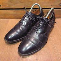 ビンテージ●Allen Edmondsストレートチップシューズ黒size 9C●201120n7-m-dshs-27cmアレンエドモンズ革靴古靴メンズブラックレザー